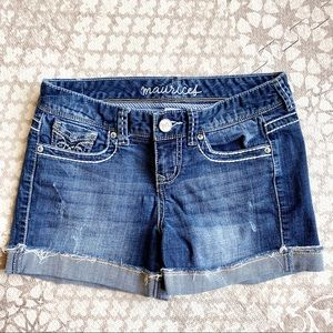 Maurices women's or juniors jean shorts